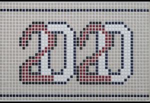 10mm角(特注デザイン) 使用タイル:2E・10E・13A・20A・20B