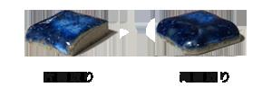 プールタイル スプラッシュシリーズ22.5mm角役物 面取り