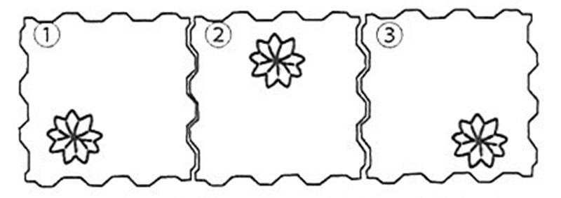 フローラ 簡易配置図