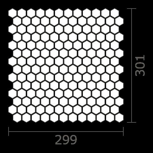 シート図 HEXAGON